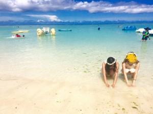 グアムのビーチスポットタモンビーチ