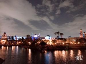 シーの夜景はとってもロマンチックです