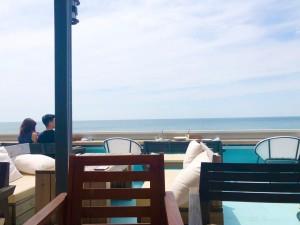 淡路島のガーブ コスタ オレンジ(GARB COSTA ORANGE)さんで海を眺めながらお食事