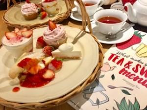 イチゴ いちご 苺 アフターヌーンティー
