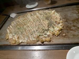 大阪の美味しいもんじゃ焼き「百十(ももじゅう)」