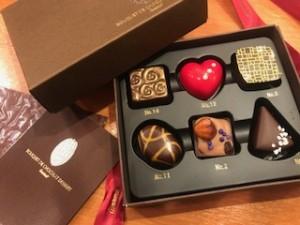 パートナー様からチョコレートの差し入れ