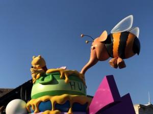 ディズニーランド35周年限定のお昼のパレード