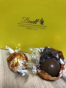 甘党にはうってつけのリンツのキャラメルチョコレート