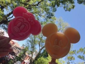 ディズニー定番のアイスキャンディー