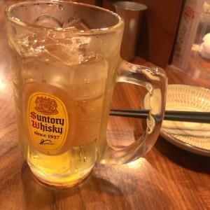 乾杯の一杯はハイボールで!裏なんばでお酒とご飯を楽しめるお店