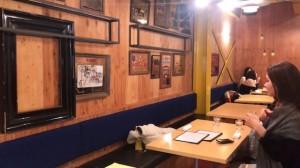 カフェのオシャレな壁