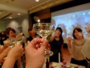 結婚式パーティ