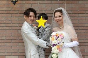 お子様も一緒に参加する結婚式!パパママ婚のお手伝い