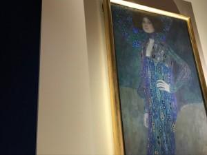 エミーリエ・フレーゲの肖像は圧巻