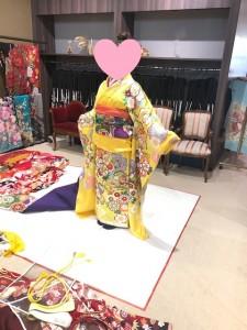 ブライダルYASUNAGAの京都福知山にて振り袖選び