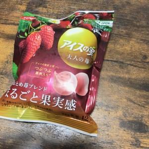 グリコアイスの実大人の苺