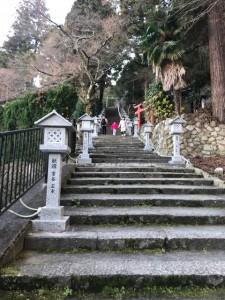 有馬温泉の温泉神社へ初詣に行ってきました