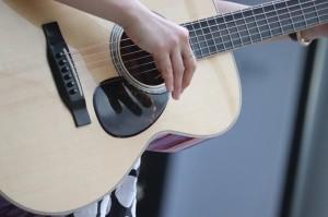 余興担当者様からの素敵なギター弾き語りのご披露