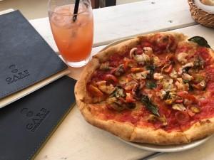 淡路島のガーブ コスタ オレンジ(GARB COSTA ORANGE)さんのピザ