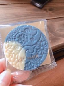 珍しい味のチョコレート「ブルーアールグレイ」