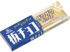 森永製菓板チョコアイスザクザクホワイト