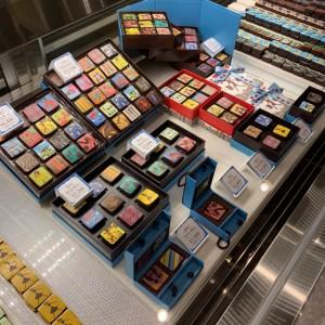 食べるのがもったいないほど美しいデザインがとてもキュートなマリベルのチョコレート