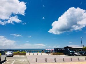 和歌山の片男波海水浴場