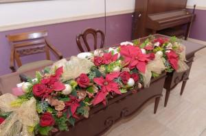 クリスマス仕様の結婚式