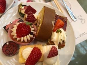 苺のデザート食べ放題