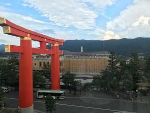京都国立近代美術館からの景色