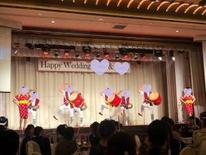沖縄の結婚式では琉球舞踊やエイサーもお披露目してお祝い