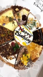 話題のタルト専門店○△□(まるさんかくしかく)のケーキ