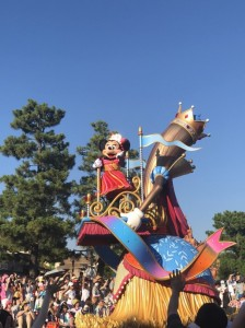 ディズニーランド35周年限定のパレード