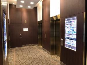 大阪マルビル(第一ホテル)のエレベーター