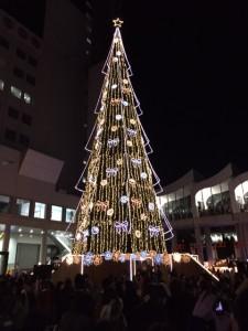 梅田スカイビルのクリスマスツリー♪
