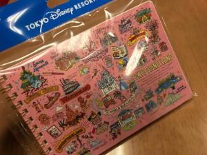 ディズニーランドで買えるオススメのリングノート