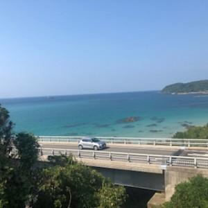 角島と角島大橋をドライブ