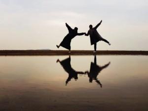 日本のウユニ塩湖!父母ケ浜