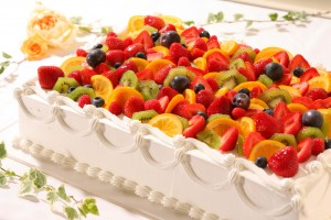結婚式のウエディングケーキでも「いちご」はとっても人気です④