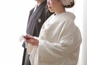 結婚式白無垢