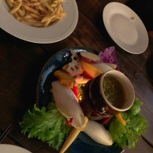 バーニャカウダが絶品のレストラン