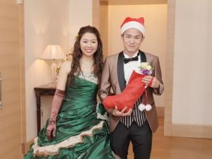 クリスマスの結婚式