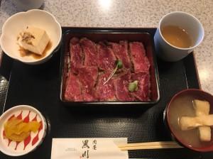 京都宇治で人気のステーキ重