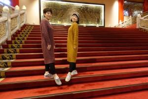 台北市内のランドマークでもあり世界中でも有名なグランドホテル台北(円山大飯店)の大階段
