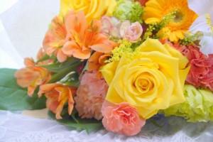 結婚式 両親 感謝 記念品 花束 生花