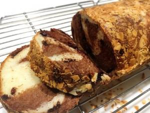 パン 教室  手ごねパン チョコ マーブル ナッツ