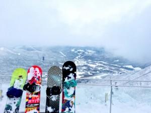 大阪から近いスキー場ハチ北!